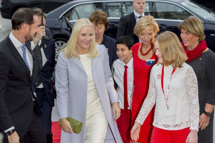 Le prince Haakon et la princesse Mette-Marit au centre du prix Nobel de la Paix samedi