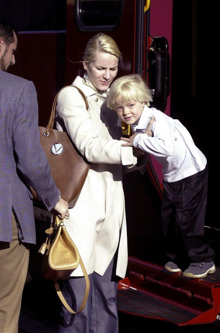 Marius Borg Hoiby, le 25 mai 2002