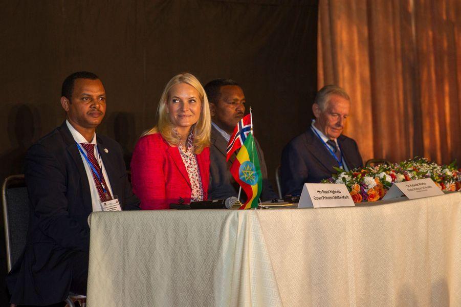 La princesse Mette-Marit de Norvège à Addis-Abeba en Ethiopie, le 8 novembre 2017