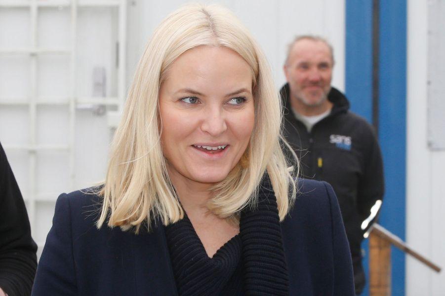 La princesse Mette-Marit de Norvège, le 25 janvier 2017 à Oslo