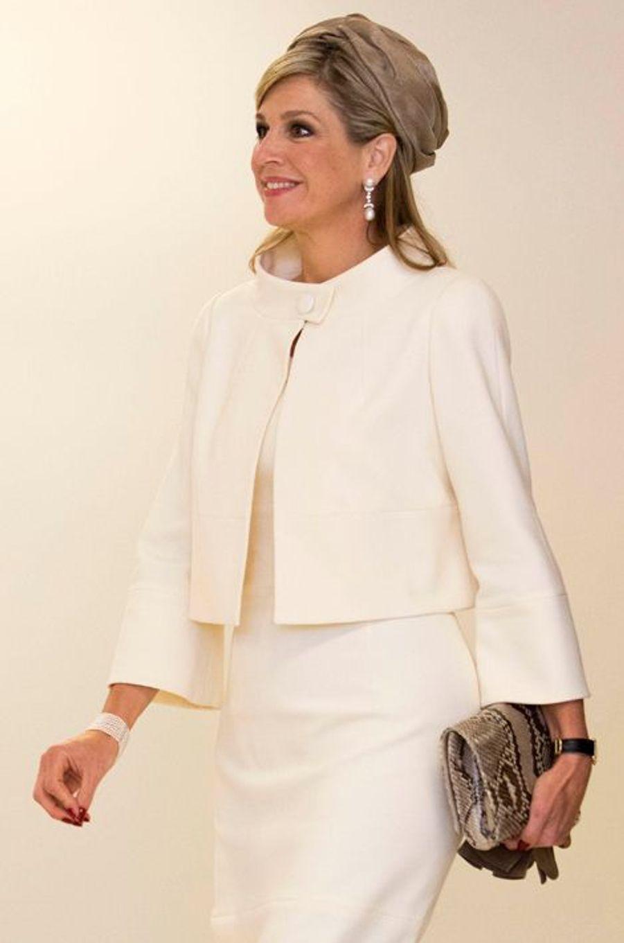 La reine Maxima des Pays-Bas au Rehabilitation Institute de Chicago, le 3 juin 2015