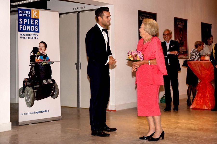 La princesse Beatrix des Pays-Bas, le 3 septembre 2015