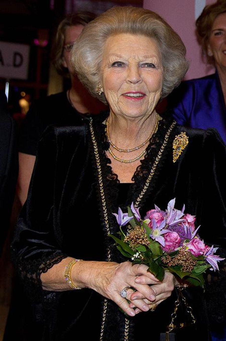 La princesse Beatrix des Pays-Bas à La Haye, le 28 janvier 2016