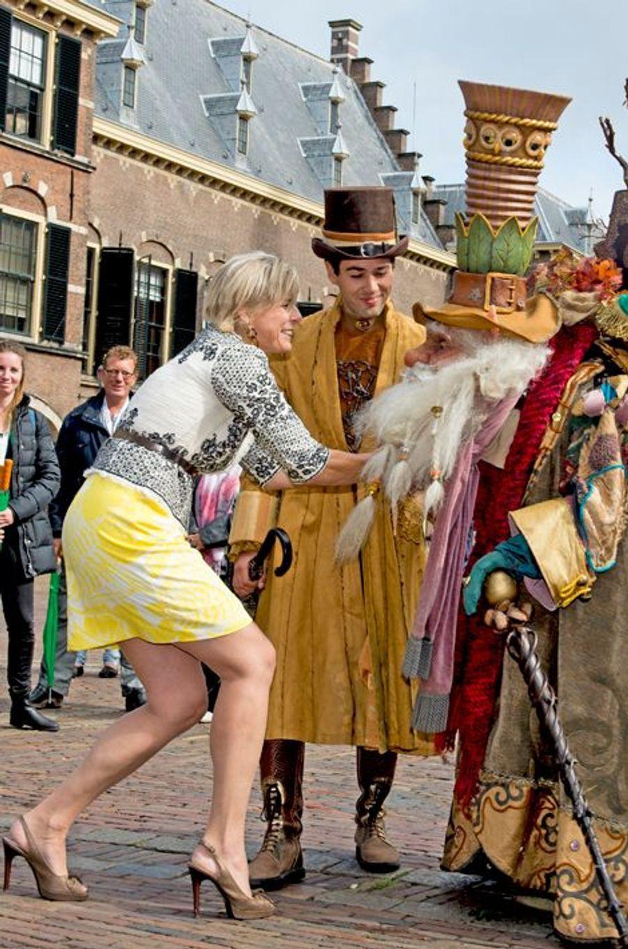 La princesse Laurentien des Pays-Bas à La Haye, le 7 septembre 2015