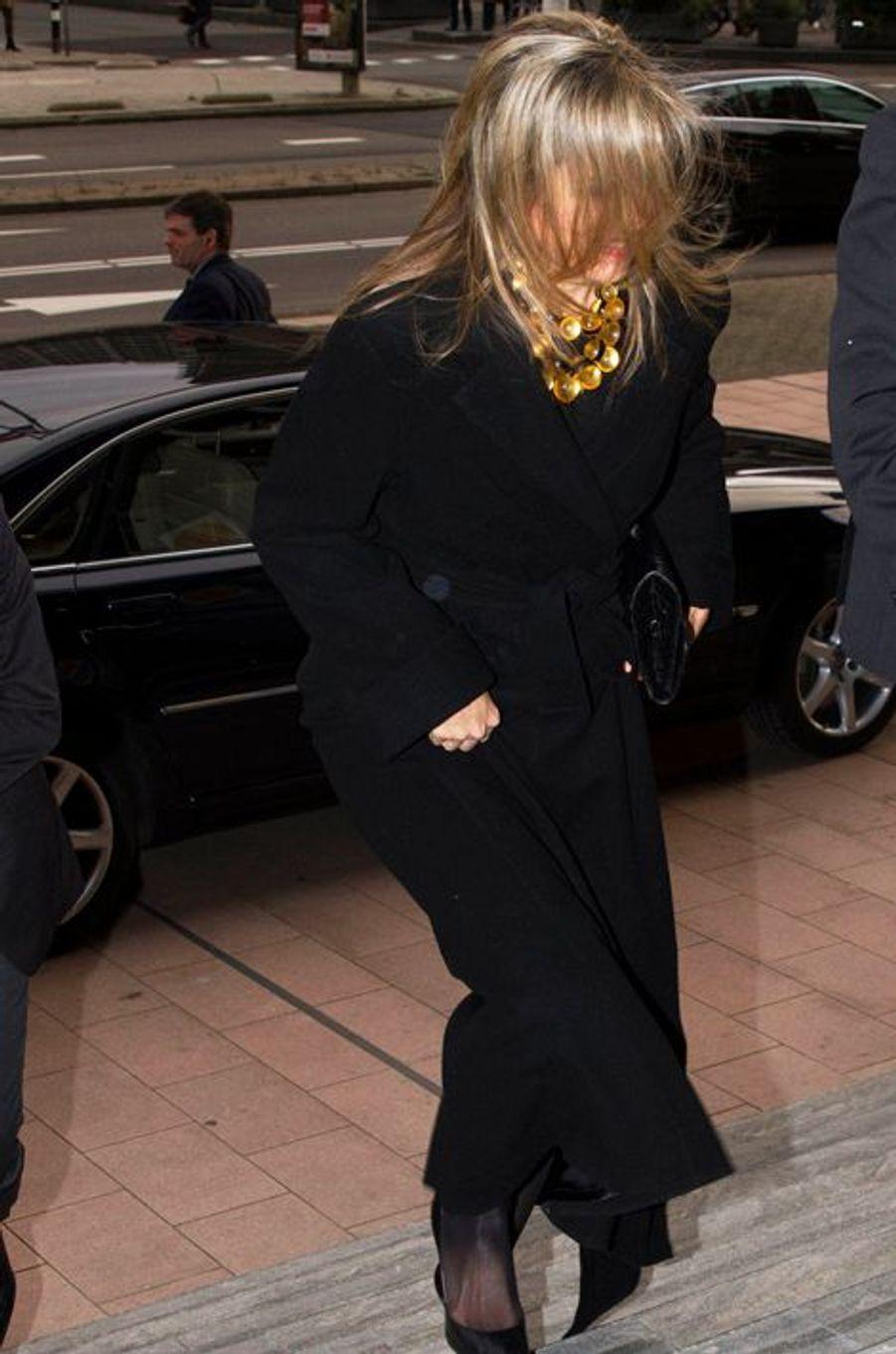 La reine Maxima des Pays-Bas à La Haye, le 23 novembre 2015