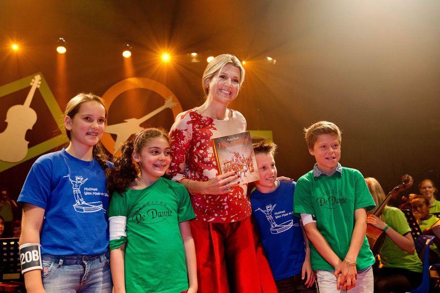 La reine Maxima des Pays-Bas à Utrecht, le 10 juin 2015
