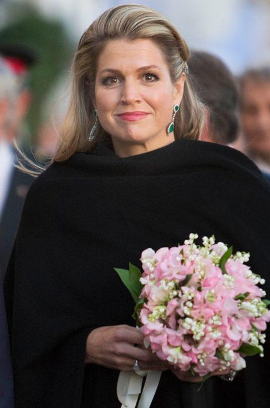 La reine Maxima des Pays-Bas à Amsterdam, le 5 mai 2015