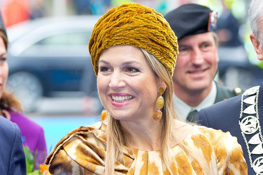 La reine Maxima des Pays-Bas à Zwolle, le 25 avril 2015