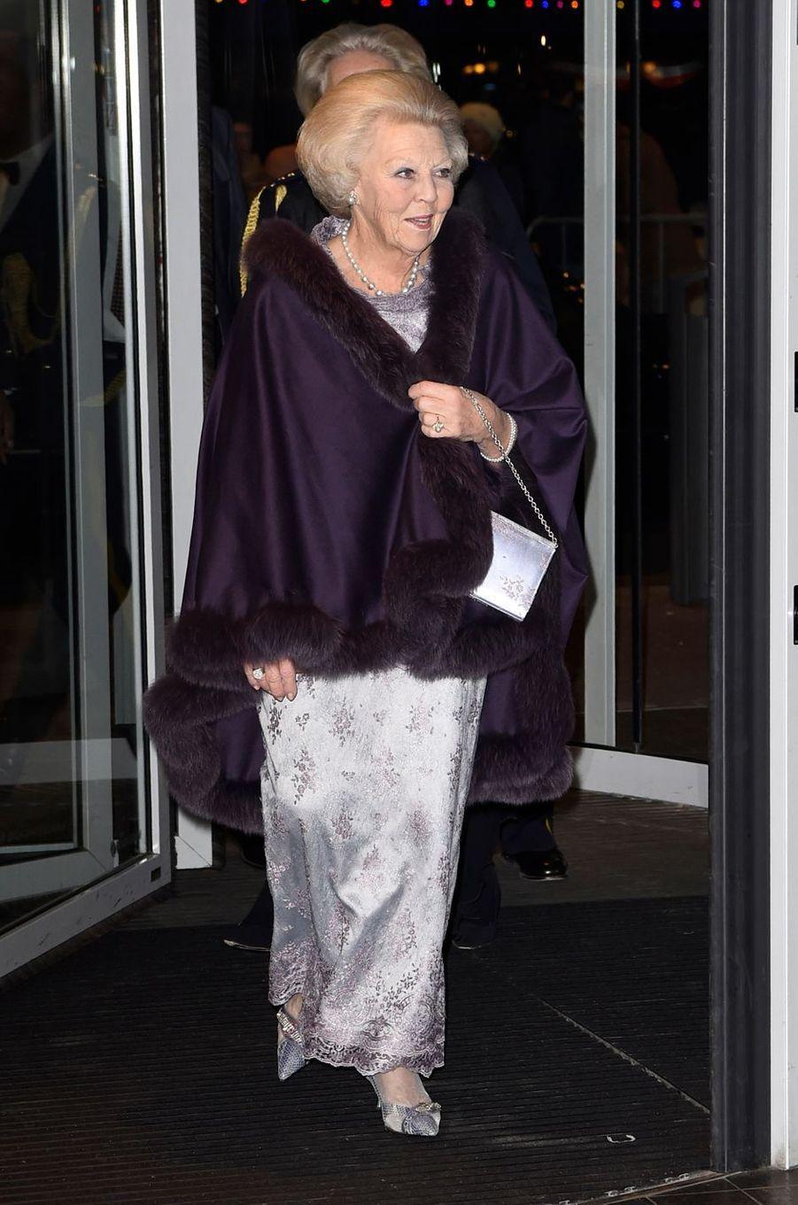 La princesse Beatrix des Pays-Bas à Amsterdam, le 29 novembre 2016