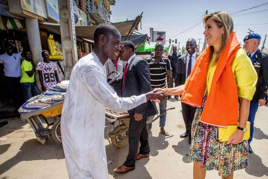 Maxima Des Pays Bas, Deuxième Jour De Visite Au Nigéria   4