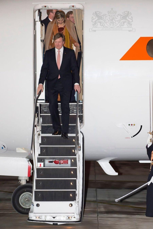 Maxima et Willem-Alexander sont en France