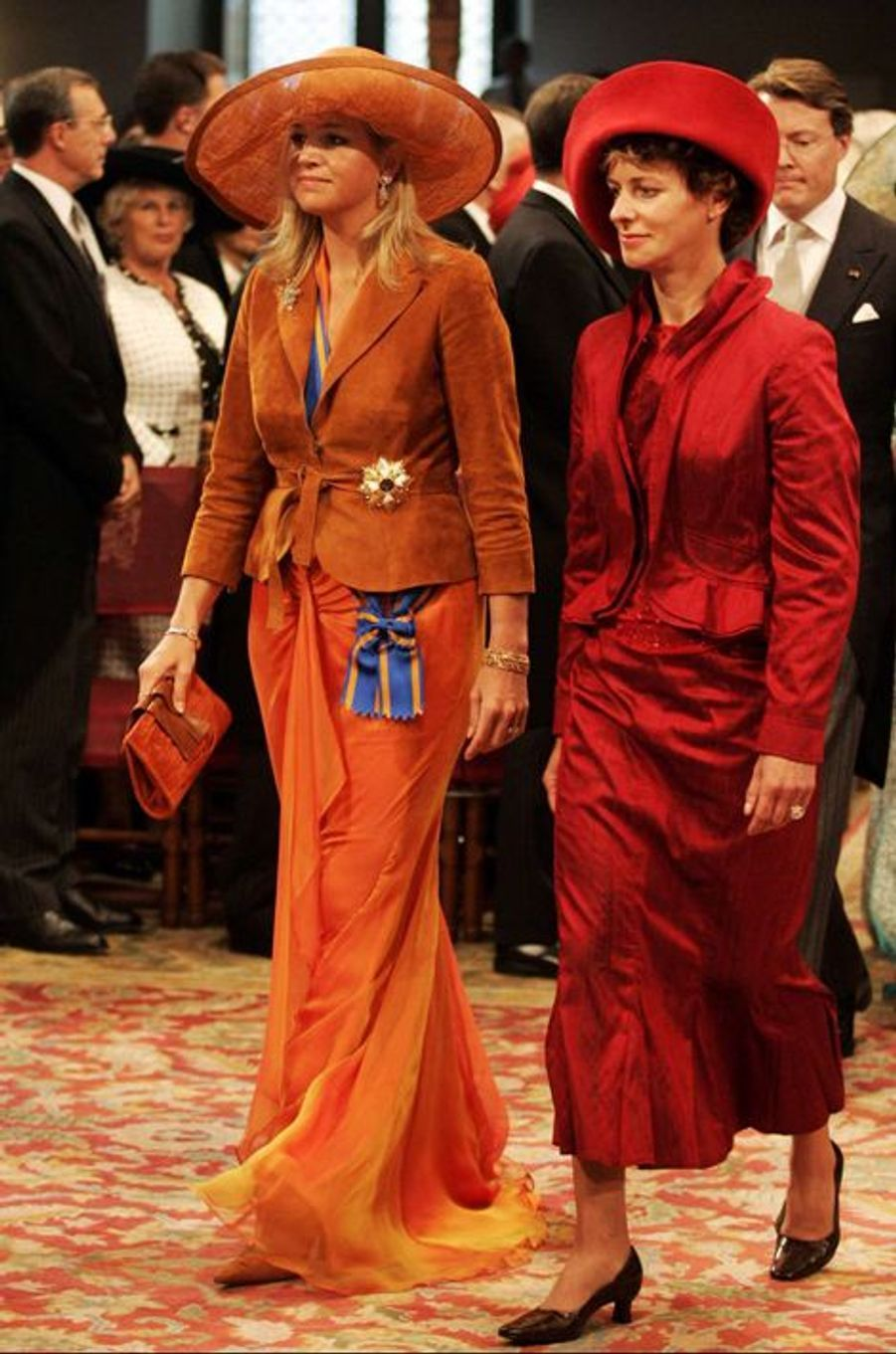 La princesse Maxima des Pays-Bas, le 20 septembre 2005