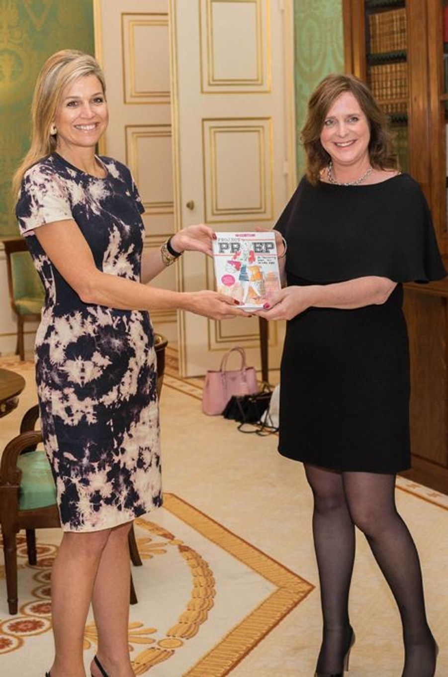 La reine Maxima des Pays-Bas à La Haye, le 17 juin 2015