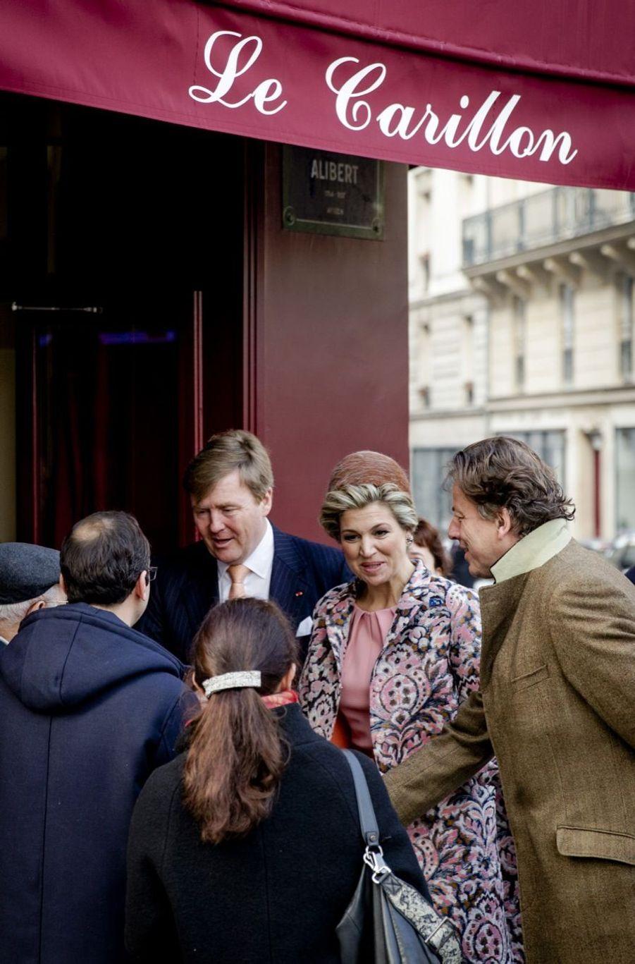 Visite surprise de Maxima et Willem-Alexander au Carillon