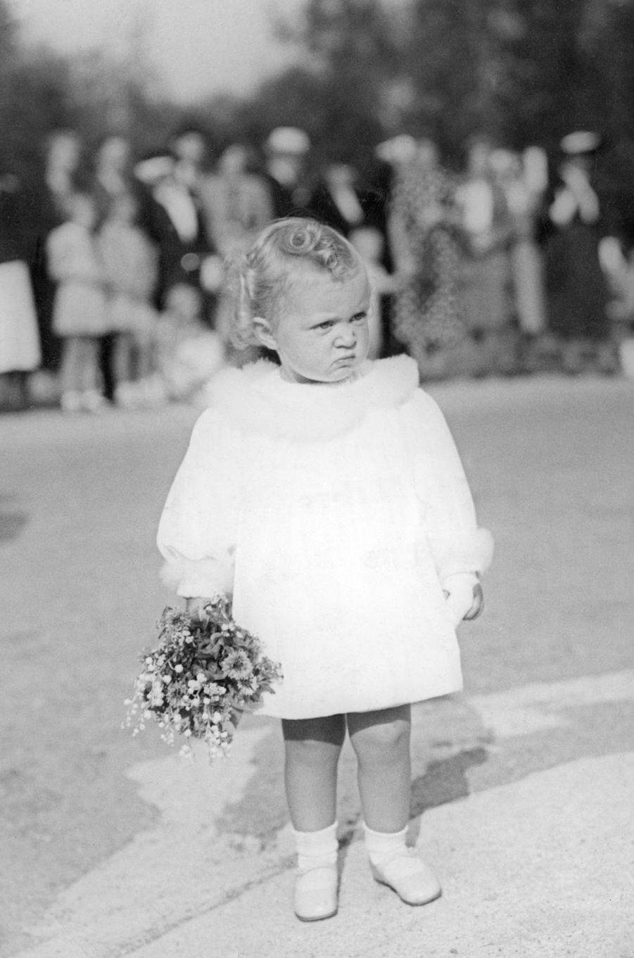 La princesse Birgitta de Suède, le 3 septembre 1938