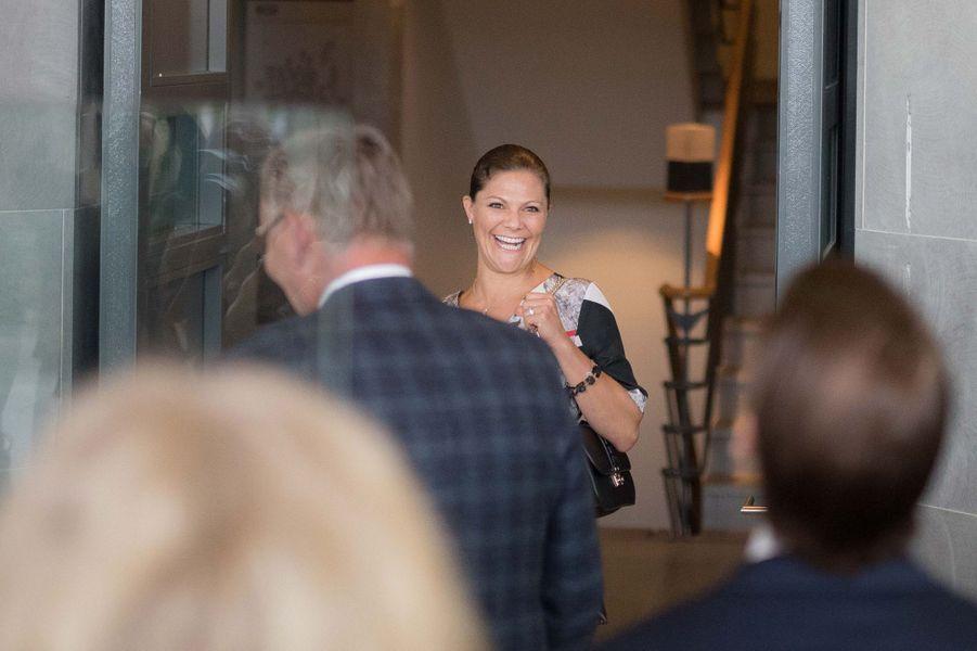 La princesse Victoria de Suède à Göteborg, le 10 septembre 2015