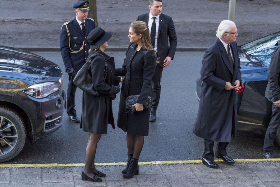 Madeleine Silvia Carl XV Gustaf De Suede À Stockholm Le 20 Janvier 2017 007