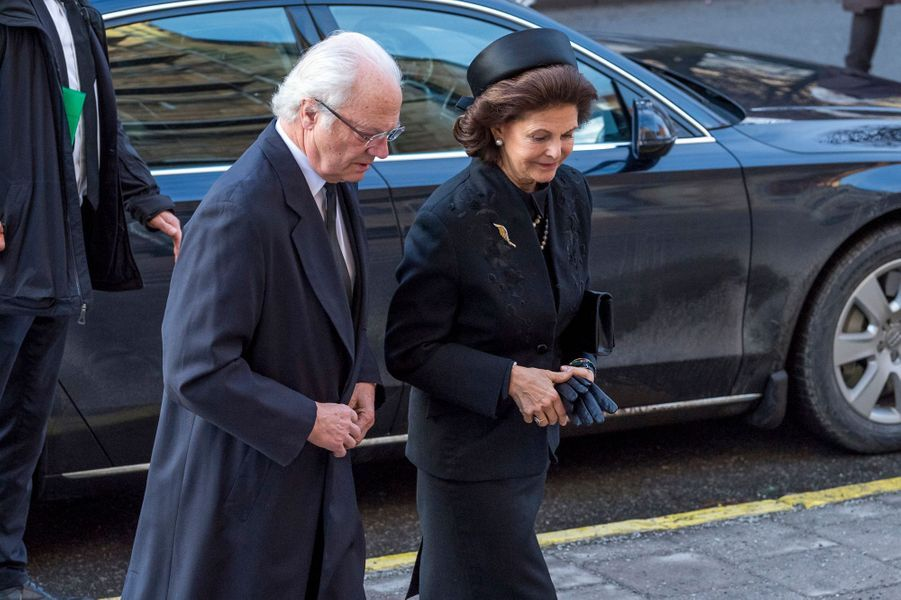 Madeleine Silvia Carl XV Gustaf De Suede À Stockholm Le 20 Janvier 2017 009