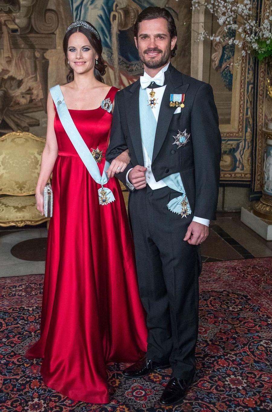 La princesse Sofia de Suède le 23 mars 2017