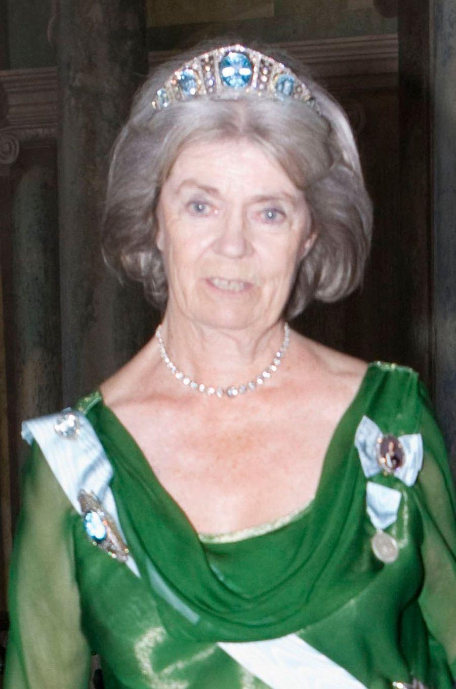 La princesse Margaretha de Suède au mariage de la princesse Victoria, le 19 juin 2010