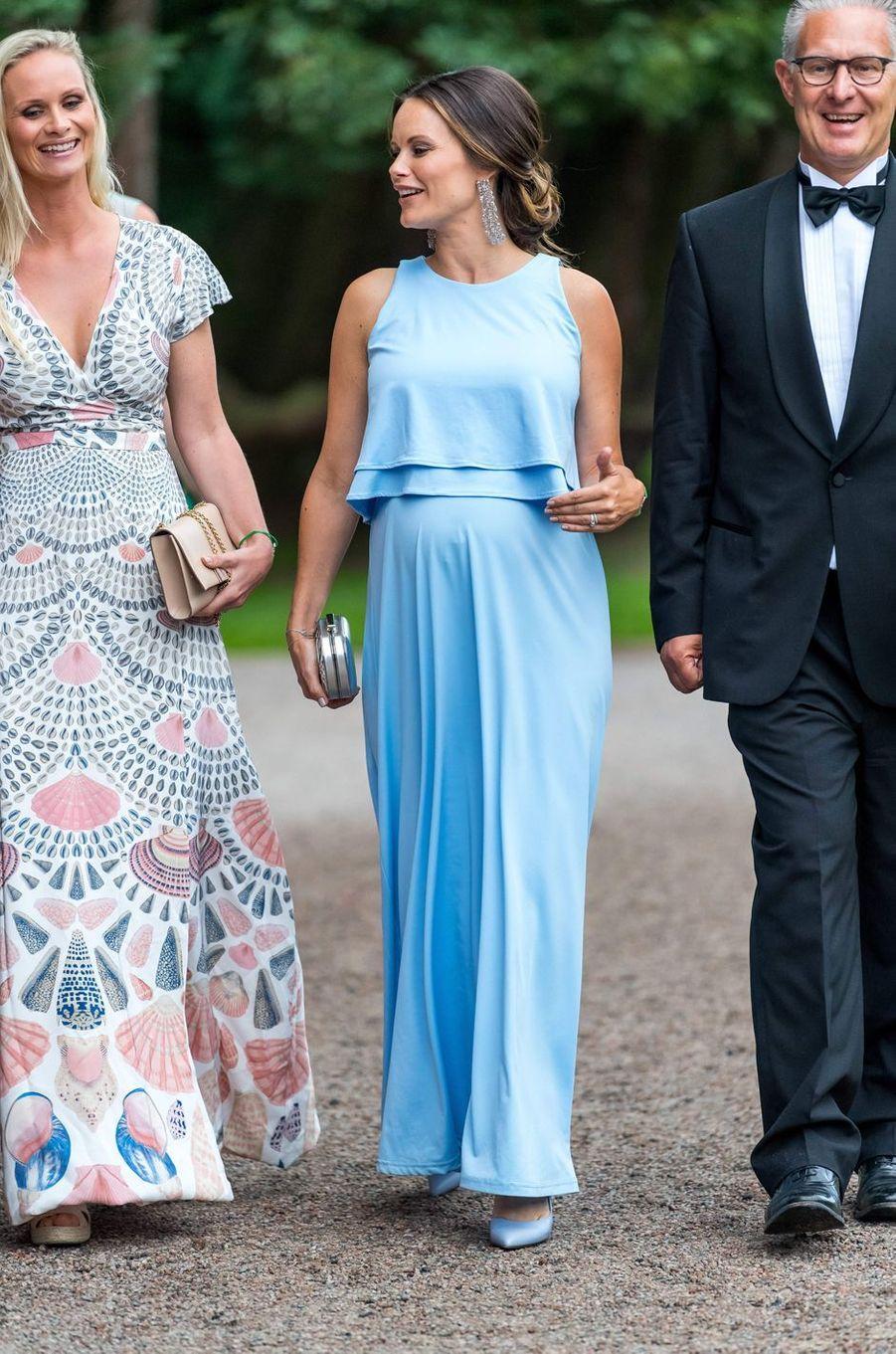 La princesse Sofia de Suède, née Hellqvist, à Bastad, le 2 août 2017