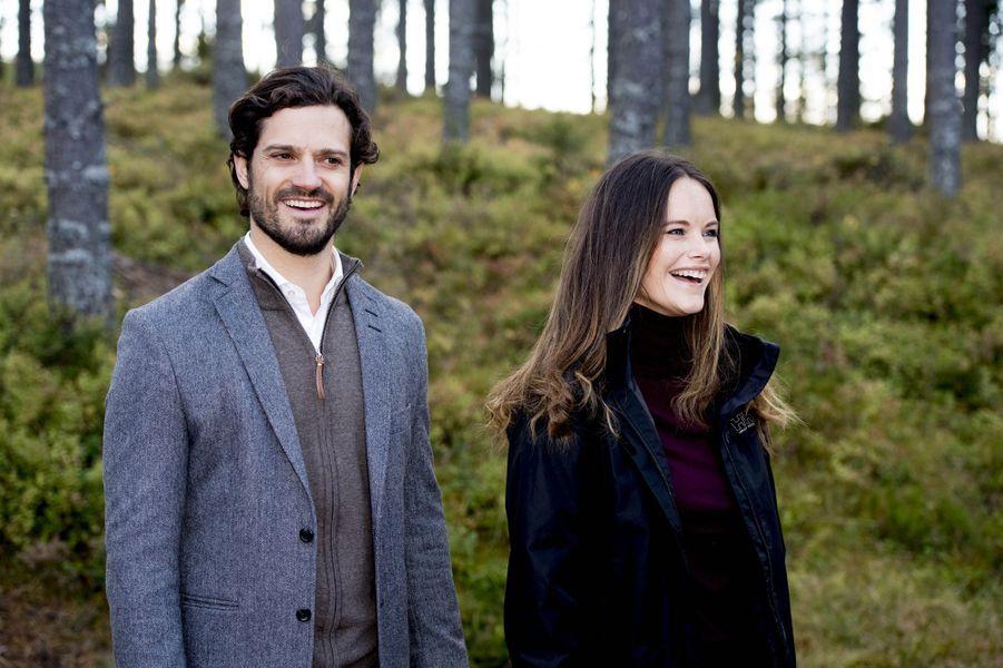 La princesse Sofia et le prince Carl Philip de Suède, le 30 septembre 2016