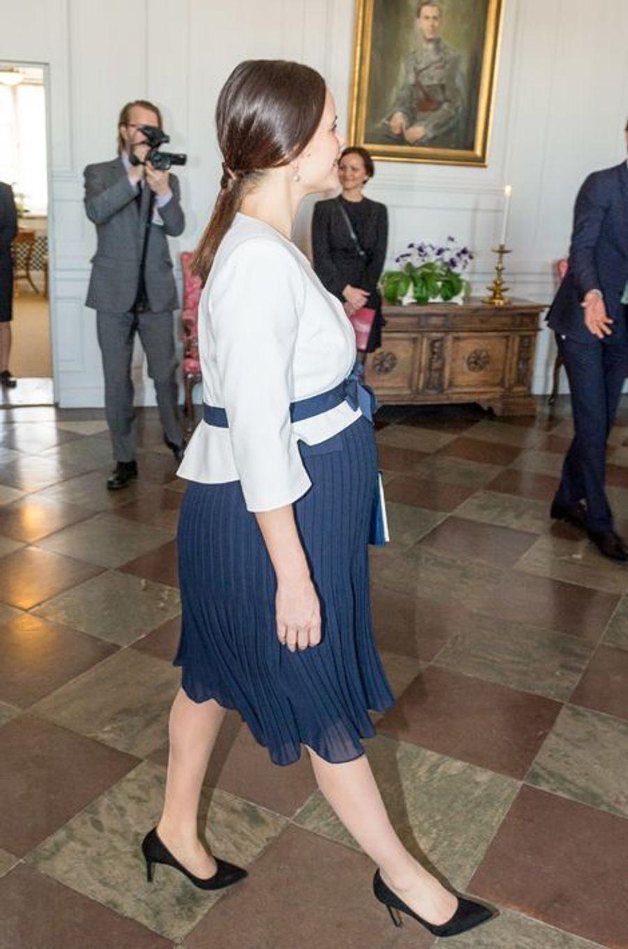 La princesse Sofia et le prince Carl Philip de Suède à Stockholm, le 10 mars 2016