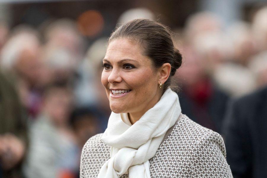 La princesse héritière Victoria de Suède sur l'île d'Öland, le 28 septembre 2016