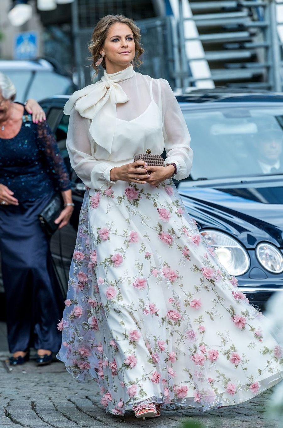 La princesse Madeleine de Suède à Stockholm, le 15 juin 2017