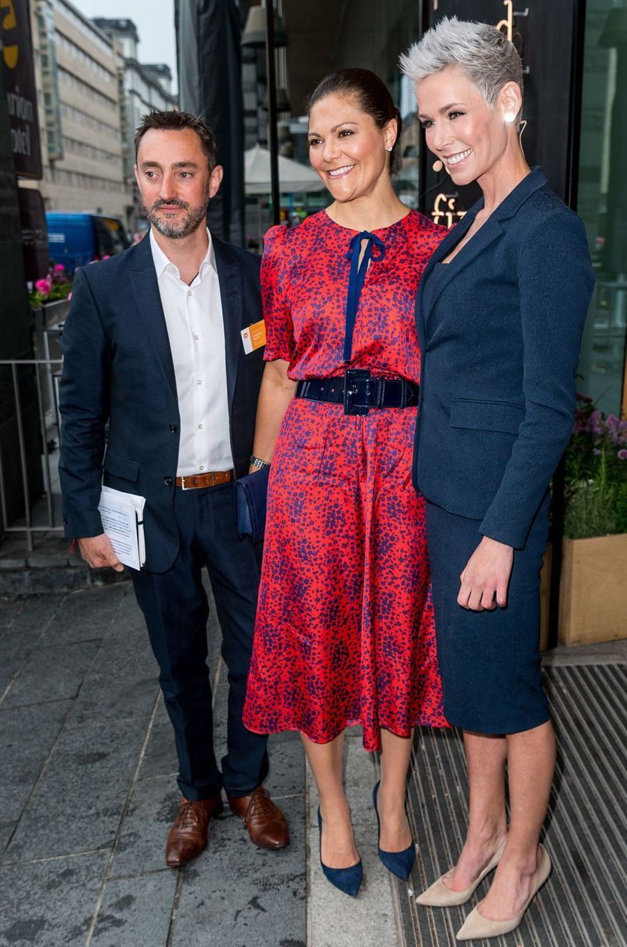 La princesse Victoria de Suède au 4e EAT Stockholm Food Forum à Stockholm, le 12 juin 2017
