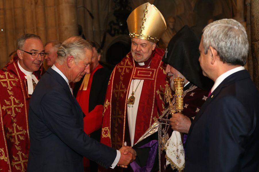 Le prince Charles à Londres, le 28 octobre 2015