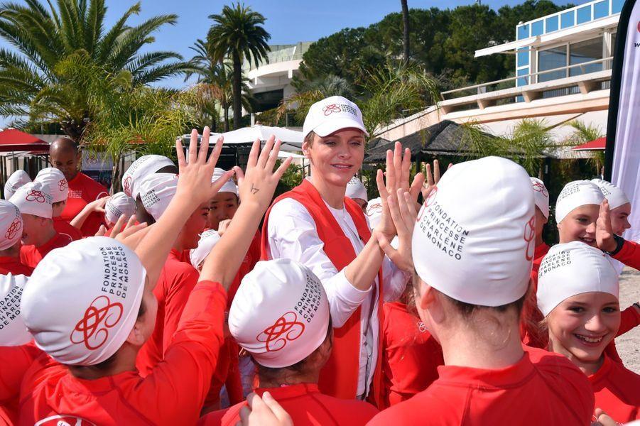Charlène de Monaco, sourire et sécurité avant tout !