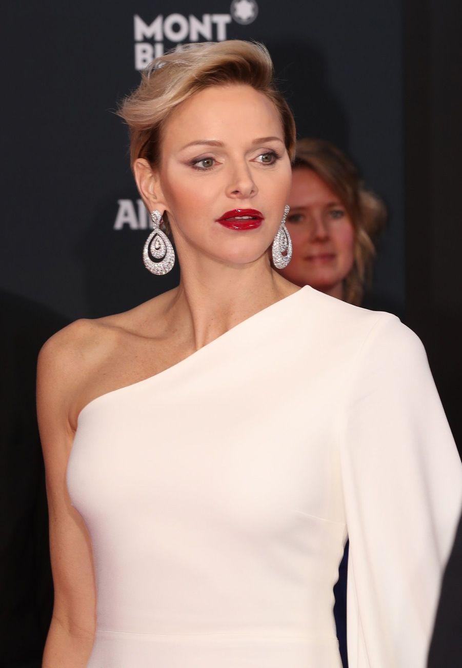 """Charlène de Monaco à la cérémonie desprix """"Laureus du sport"""""""