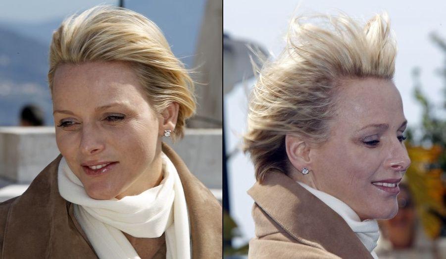 Les cheveux dans le vent