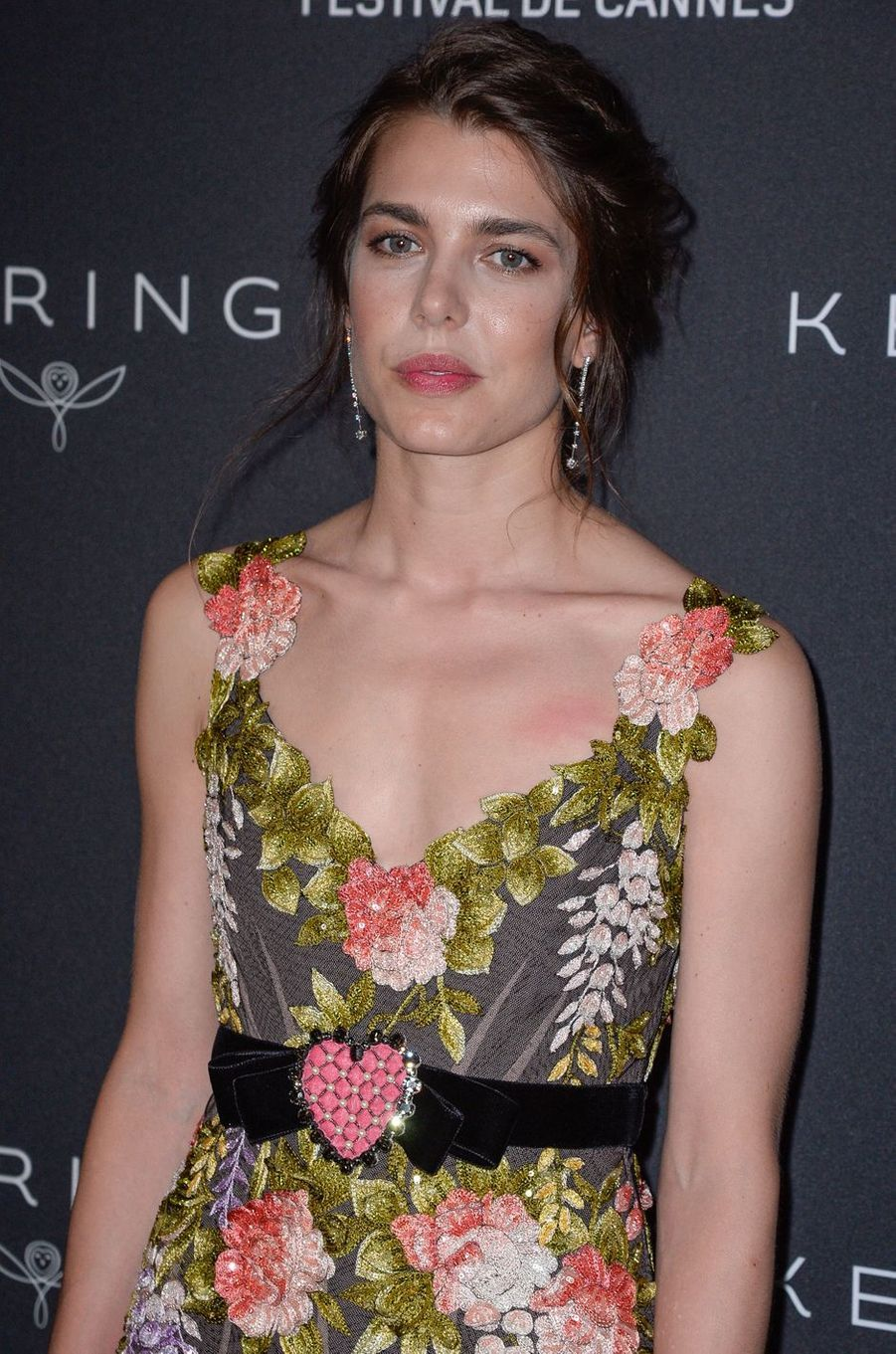 Charlotte Casiraghi à Cannes, le 21 mai 2017