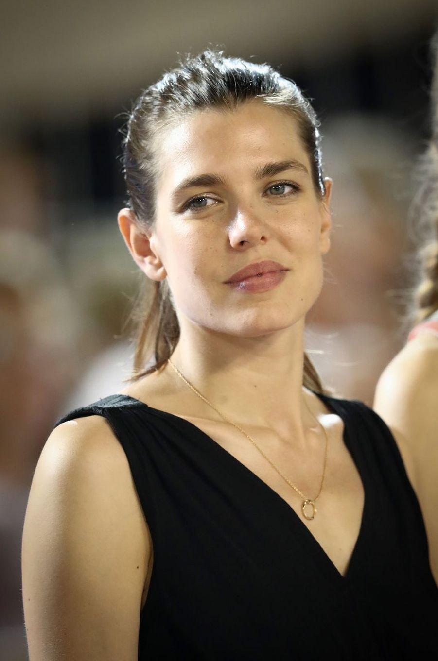 Charlotte Casiraghi à Monaco, le 23 juin 2017