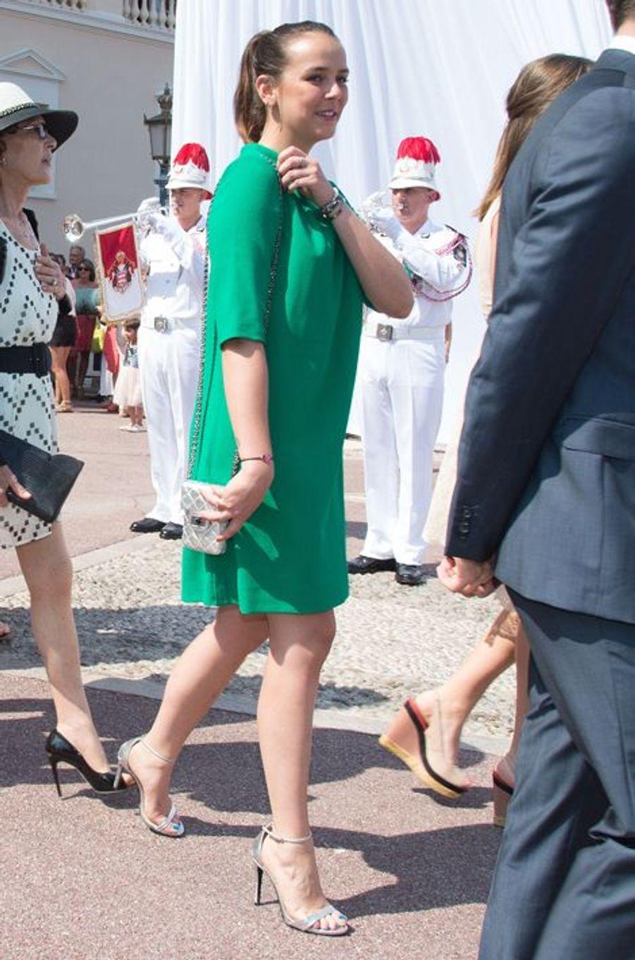 Pauline Ducruet à Monaco, le 11 juillet 2015