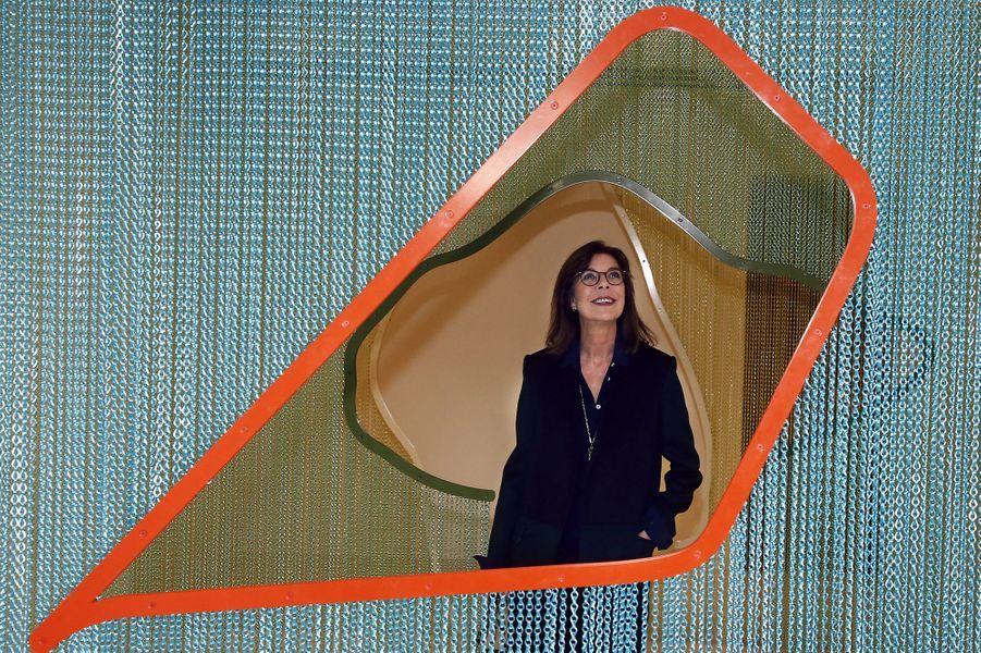 """2 La Princesse Caroline De Monaco À L'exposition """"Construire Une Collection"""""""