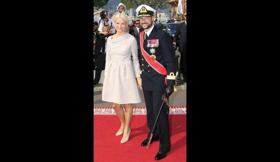La Princesse Mette Marit et le Prince Haakon de Norvège