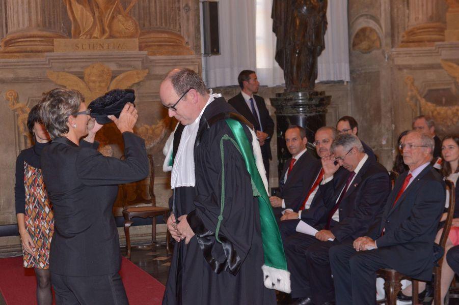 Albert de Monaco, prince à Gênes