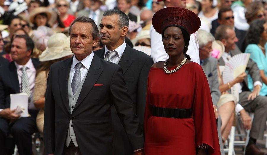 Jacky Ickx et son épouse Kaadja Nin