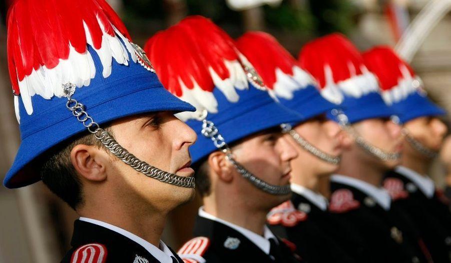 Les carabiniers monégasques
