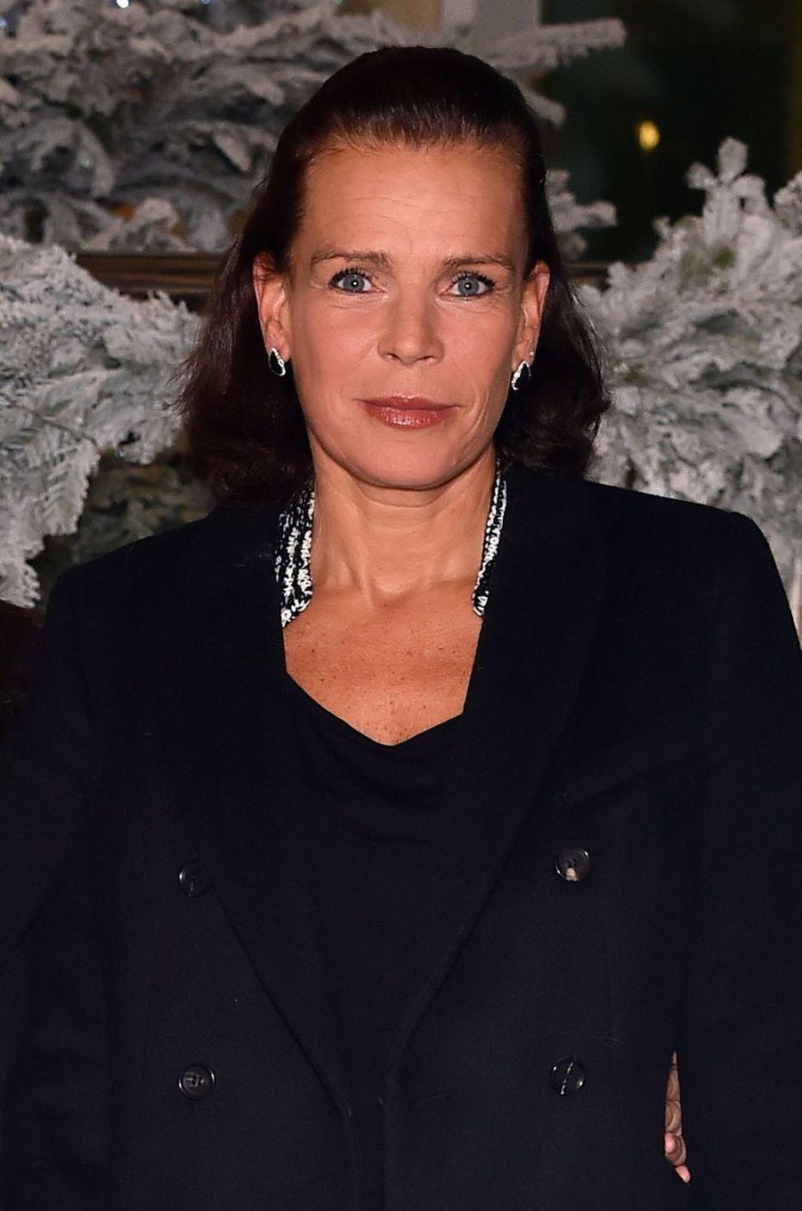 La princesse Stéphanie de Monaco le 1er décembre 2016