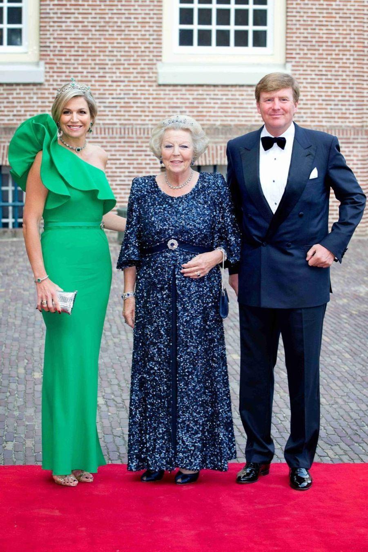Pour Albert, un diner d'état avec Willem-Alexander et Maxima