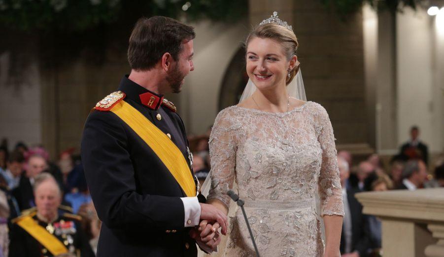 Le Grand-Duc héritier du Luxembourg a épousé la comtesse belge Stéphanie de Lannoy, le 20 octobre dernier.
