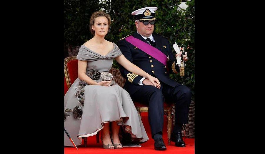 La princesse Claire est la femme du prince Laurent, fils d'Albert et Fabiola. Ils ont trois enfants ensemble. Claire est souvent décrite comme discrète et moderne.