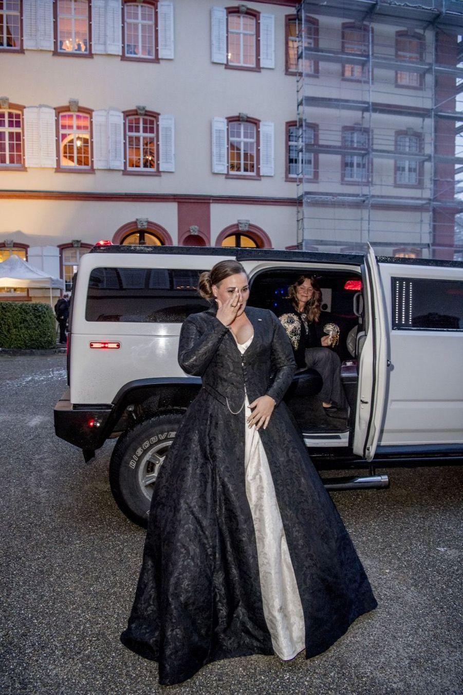 Au Mariage De La Comtesse Diana Bernadotte De Wisborg 1