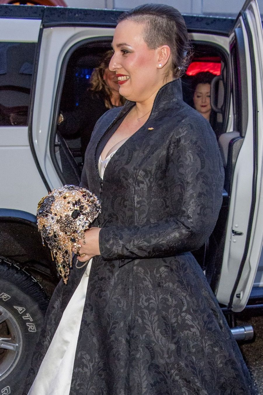 Au Mariage De La Comtesse Diana Bernadotte De Wisborg 2