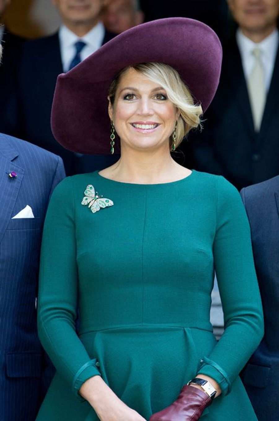La reine Maxima des Pays-Bas à Tokyo, le 30 octobre 2014