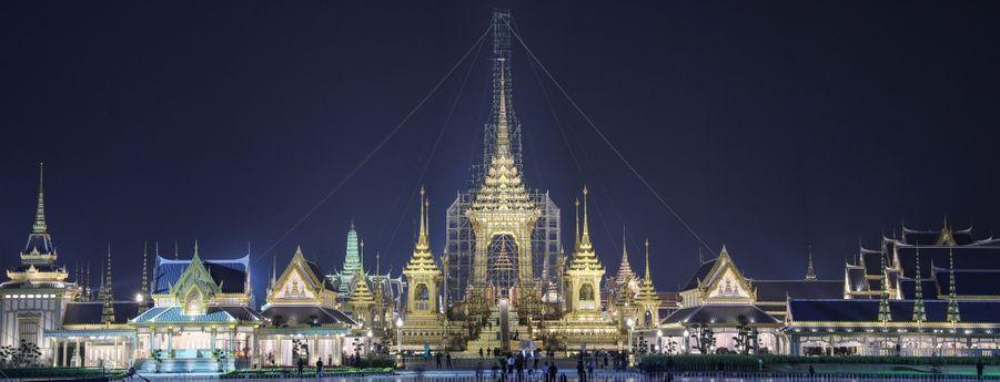 En Thaïlande, Un An Après La Mort Du Roi, Dernière Phase De Deuil Avant La Crémation 2
